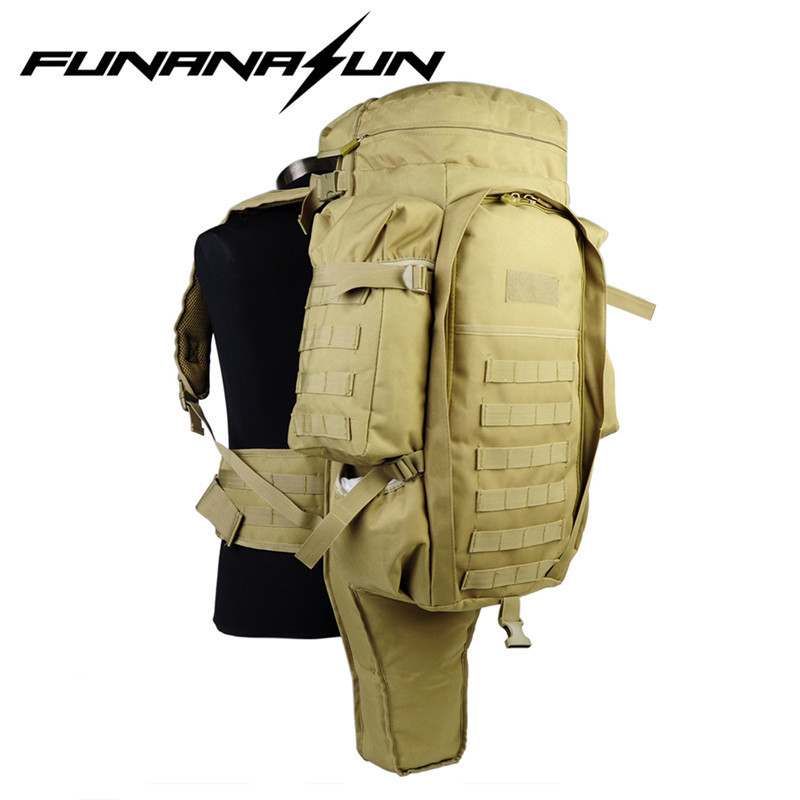 Military USMC Army Tactical Molle Hiking Hunting Camping Rifle Backpack Bag Climbing Bags Outdoor Travel Back Pack military usmc army tactical molle rifle backpack hiking hunting camping travel rucksack roll pack gun storage fishing rode bag