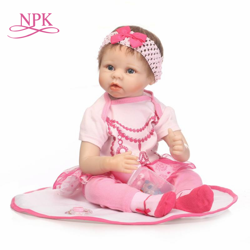 NPK reborn doll with soft real gentle  touch Collection lifelike baby doll silicone vinyl children birthday presentsNPK reborn doll with soft real gentle  touch Collection lifelike baby doll silicone vinyl children birthday presents