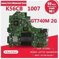 Hot Selling For ASUS K56CB Motherbaord K56CM Rev 2 0 Intel 2117 CPU 2GB PM Fully