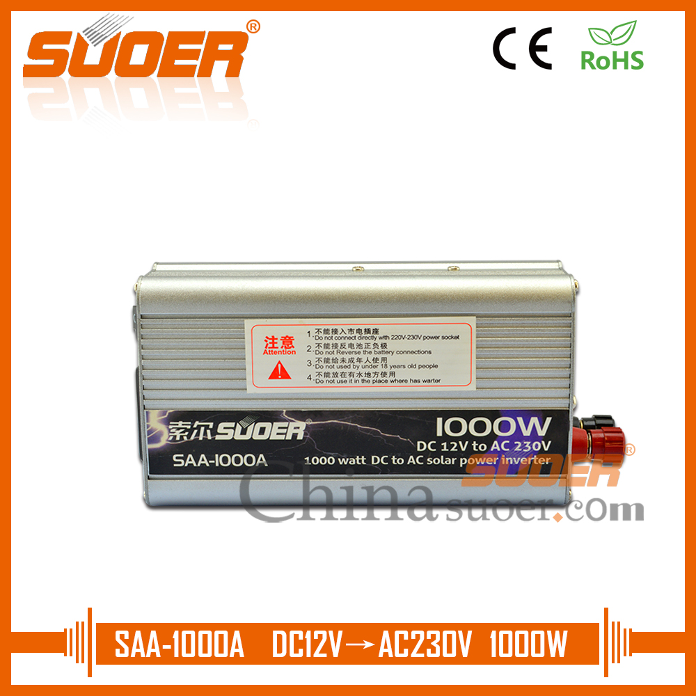 Inverters For Sale >> Us 39 84 Suoer Modified Sine Wave Inverter Hot Sale Power Inverter 1000w 12v 220v Car Power Inverter Saa 1000a In Inverters Converters From Home