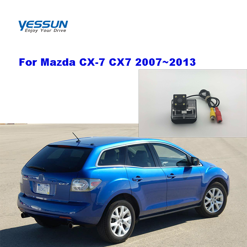 Yessun Rear View Camera Rear View Camera For <font><b>Mazda</b></font> <font><b>6</b></font> GG1 2002~2012 GG GY <font><b>wagon</b></font> <font><b>Mazda</b></font> CX-7 CX7 2007~2013 Reversing Camera image
