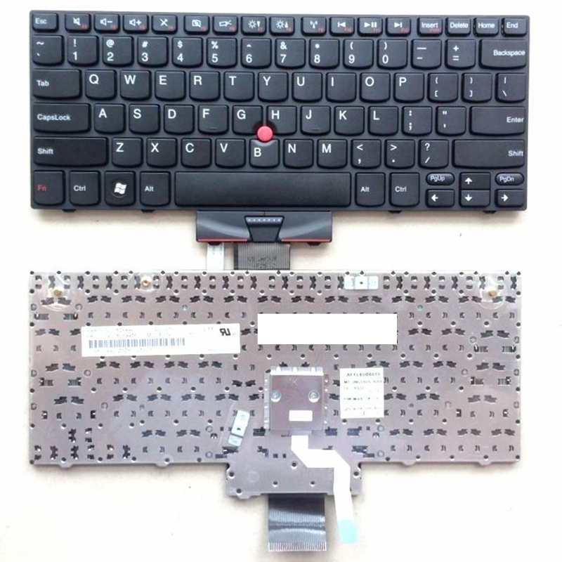 US Black New English Replace laptop keyboard For Lenovo For IBM for Thinkpad X120E X100 X100E E10 E11 With pointing sticksUS Black New English Replace laptop keyboard For Lenovo For IBM for Thinkpad X120E X100 X100E E10 E11 With pointing sticks