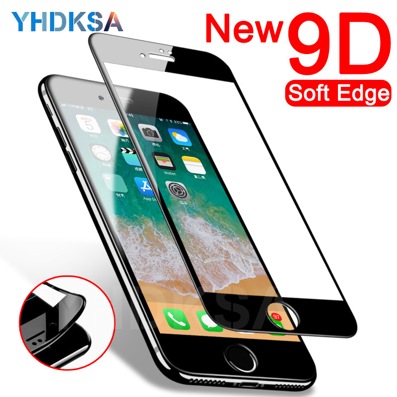 9D Curved Full Cover Screen Protector on the For iPhone 8 7 6 6S Plus Protective Tempered Glass For iPhone X XR XS Max Film Case9D Curved Full Cover Screen Protector on the For iPhone 8 7 6 6S Plus Protective Tempered Glass For iPhone X XR XS Max Film Case