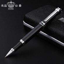 Free Shipping Classic Design Brand Duke D2 Metal Roller Ballpoint Pen Luxury Business Duke Pen Buy 2 Pens Send Gift цена