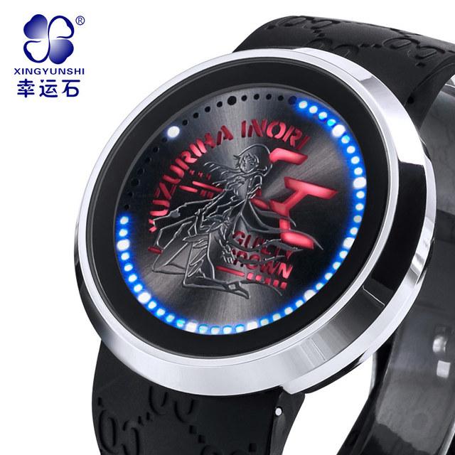 El pecado de la corona reloj de Lujo marca de relojes de los hombres 2016 Más Alto de La Moda de Vestir de Negocios Casual reloj de pulsera electrónica hombres a prueba de agua 30 m