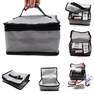 LiPo Battery Fireproof Safety Bag Safe Bag For DJI Mavic Pro For Mavic 2 Pro / Zoom For DJI Phantom 3/4 Battery Safety Bag(China)