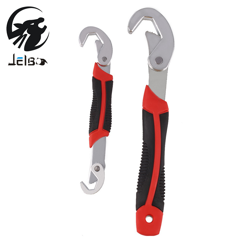 Jelbo Tools Wrench Spanner Set Portable Adjustable Quick Wrench Universal Wrench Kit 2Pcs Wrench Key Combination Ratchet Clutch xkai 14pcs 6 19mm ratchet spanner combination wrench a set of keys ratchet skate tool ratchet handle chrome vanadium