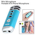El envío gratuito! i9 Actualiza Mini Portátil de Grabación Cantar Karaoke Player Home KTV Micrófono