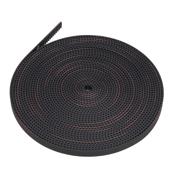 New Arrival 5M 2GT-6mm Rubber Opening Belt S2M GT2 Belt For 3D Printer