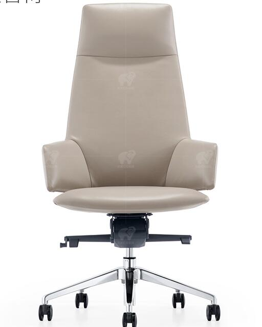 Купить с кэшбэком Leather boss chair reclining computer chair home modern minimalist conference chair designer office chair.