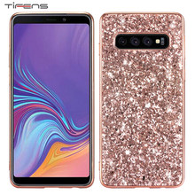حقيبة لهاتف سامسونج S10 S9 S8 A6 A8 J4 J6 Plus نوت 10 Plus 9 8 A7 A9 J8 2018 M10 M20 S10E Galaxy S7 Edge Bling التسلق Capinha(China)