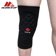 Thickening Football Volleyball Extreme Sports knee pads brace support Protect Cycling Knee Protector Kneepad rodilleras цена 2017
