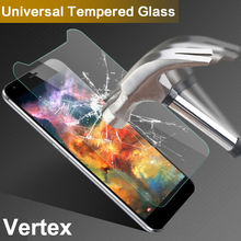 Tempered Glass for Vertex Impress Click Baccara Eagle Hero Lion Luck Nero Open Saturn Tiger New Wolf Phone Screen Protector Film