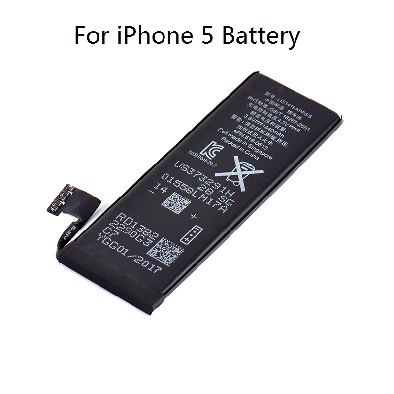 High Capacity Phone Relacement Battery For iPhone 5 ...