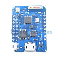 WEMOS D1 Mini Pro 16M Bytes External Antenna Connector NodeMCU ESP8266 CP2104 WIFI IOT Development Board With Free Pins(China (Mainland))