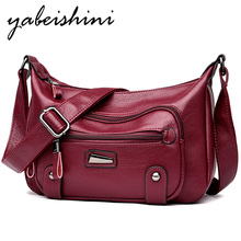 2019 For Women Vintage Shoulder Bag Bolsas Femininas Designer Handbags Female Leather Messenger Bags Sac A Main Crossbody Bags