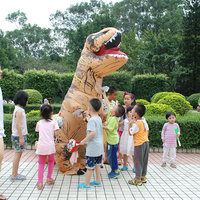 Adult INFLATABLE Dinosaur T REX Costume Blowup Costumes For Anime disfraces adultosHalloween Costumes for Men new brand