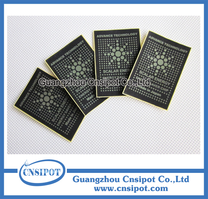 free shipping scalar energy chip anti radiation sticker