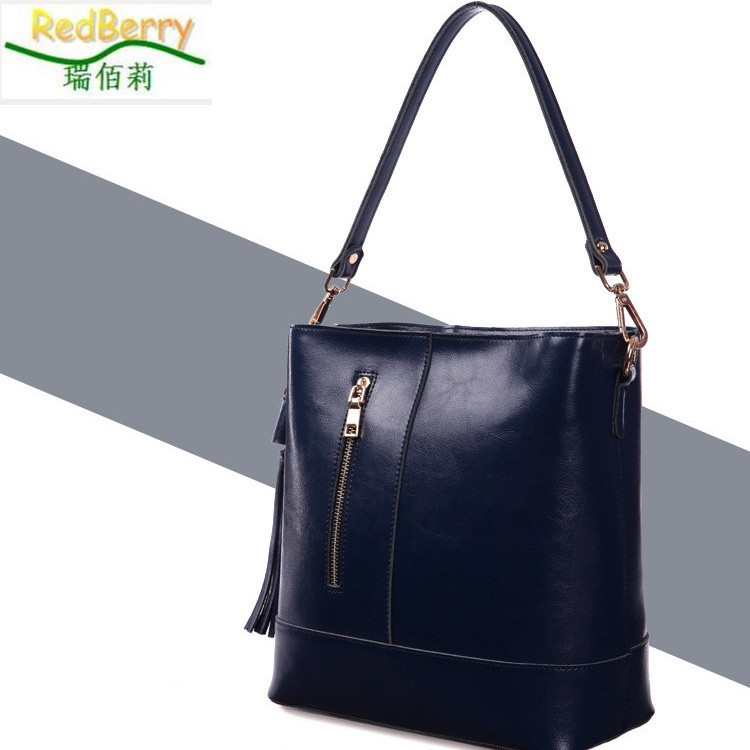 New Women Handbag Genuine Leather Bag Fashion Shoulder Bag Hot Sale Messenger Bags Vintage Crossbody Tote Bolsas Femininas 2015 fashion women floral genuine leather handbag elegant shoulder bag new style messenger bags women top handle bags hot tote