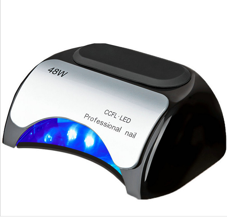 ФОТО 48W Nail Dryer Polish Machine Led Lamp For Nails Professinoal Nail Art Tools Lamp For Drying Nail Manicure Phototherapy Machine