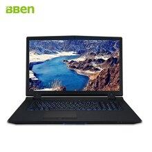 Bben ноутбук DDR4 32 г/128 г M.2 SSD + 500 г HDD FHD 1920×1080 Intel i7-6700k 4 ядра клавиатура с подсветкой ноутбук windows10