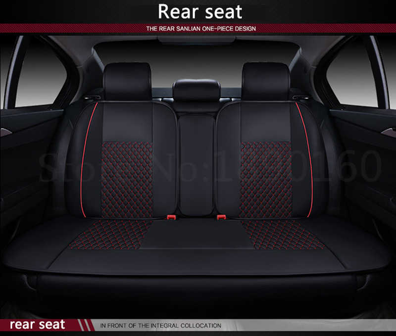 only car rear seat covers For Audi A6L R8 Q3 Q5 Q7 S4 RS Quattro A1 A2 A3 A4 A5 A6 A7 A8 auto accessories car stickers styling