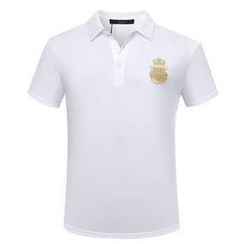 Billionaire TACE&SHARK Polo Shirt short men's 2018 summer new commerce comfort freely Embroidery buttons garment free shipping - DISCOUNT ITEM  17% OFF All Category