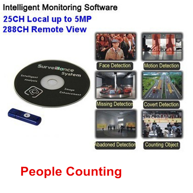 security cctv intelligent onvif analysis video frame capture people counting for megapixel ip cameras support dahua