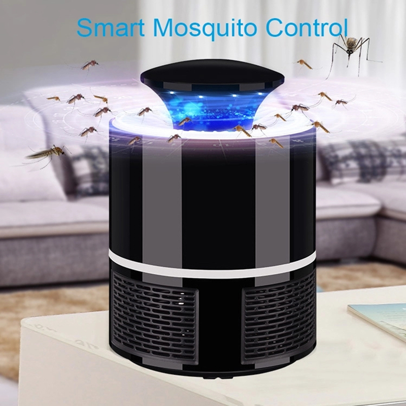Mosquito Killer USB Electric  Lamp Photocatalysis Insect Trap Radiationless Mute Home LED Bug Zapper