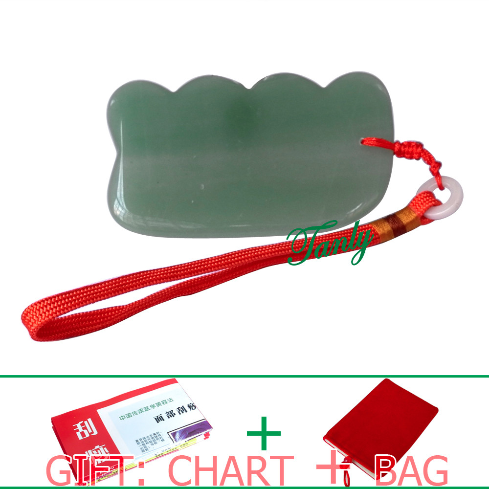 HIGHT QUALITY! Traditional Acupuncture Massage Tool Beauty SPA Guasha Board Natural Aventurine Stone (square shape with wave) brand new brush 6 armed side plastic brush kit cleanning for irobot roomba 500 series vacuum parts flexible beater brush