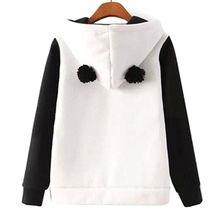 Cute Cotton blended Women's Panda Fleece