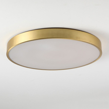 Square Modern led ceiling lamp Round copper ceiling lamps simple living room bedroom aisle porch balcony Lighting fixture 20cmsky blue hot bending glass lamps tiffany balcony and kitchen aisle simple fashion the mediterranean lamp windows and balcony