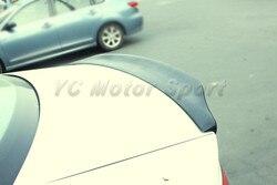 Akcesoria samochodowe FRP włókna szklanego CRT styl Spoiler bagażnika nadające się do 2009-2013 A4 B8 Sedan tylny Spoiler Ducktail tylne skrzydło