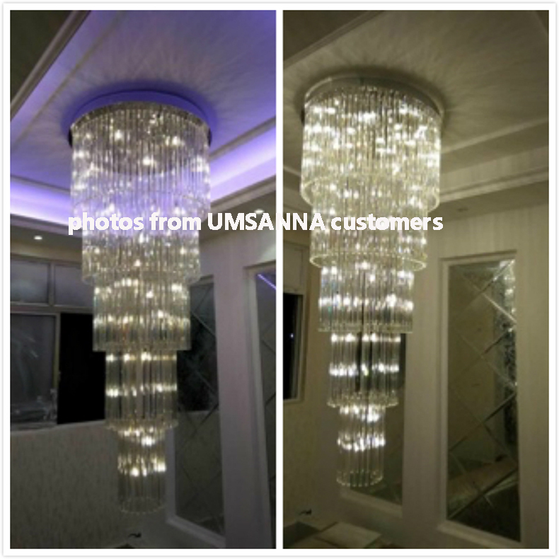 Kristalni luster LED Moderni lusteri za rasvjetu Rasvjetno kućište - Unutarnja rasvjeta - Foto 6