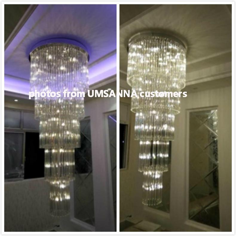 Crystal ջահ LED ժամանակակից ջահերի - Ներքին լուսավորություն - Լուսանկար 6