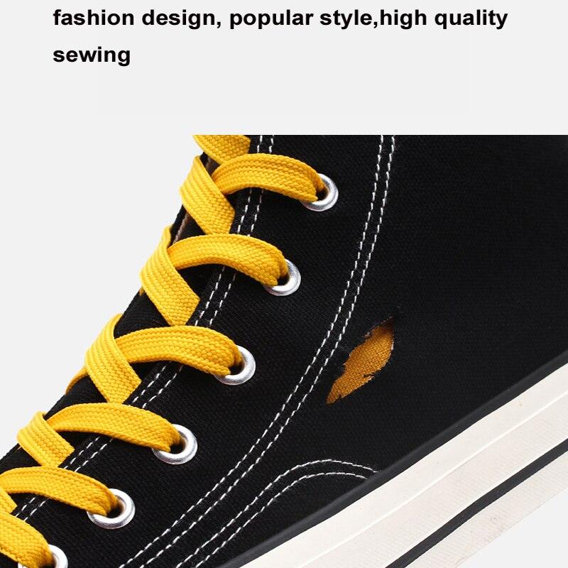 2019 latest style non-leather shoe Men  comfortable Casual Shoes Low Breathable Falt Canvas Shoes Students Style light male shoe 3