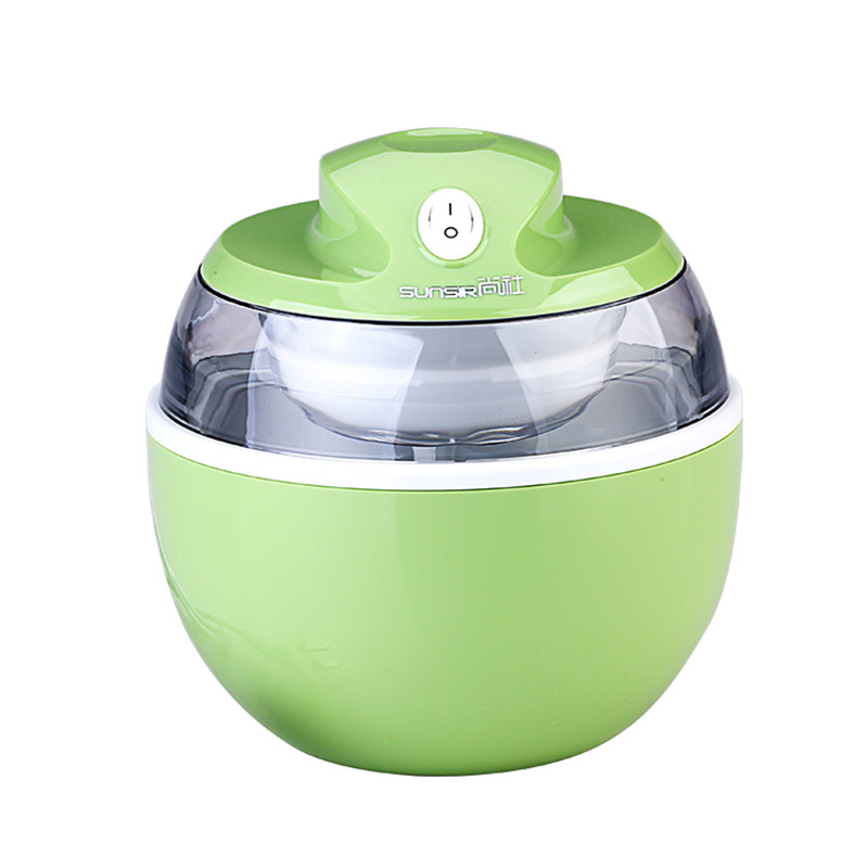 Sunsir 220V Household Ice Cream Maker Ice Cream Machine Portable Ice Maker 4 color Available Easy Operation High Quality in Ice Cream Makers from Home Appliances