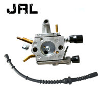 Carburetor Carb Fit STIHL FS120 FS120R FS200 FS020 FS202 TS200 With Fuel Line
