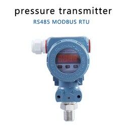 RS485-Modbus RTU komunikacji przetwornik ciśnienia o wysokiej dokładności inteligentny wyświetlacz cyfrowy przetwornik ciśnienia
