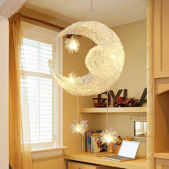 childrens bedroom light shades aliexpress buy moon pendant lamp for children 14800