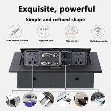 K514 AU/EU/US Standard / Universal Power /Tabletop Socket /Hidden/HDMI High-definition Multimedia Desktop Socket Pop-up