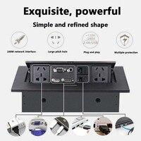 K514 AU/EU/US Standard / Universal Power /Tabletop Socket /Hidden/HDMI High definition Multimedia Desktop Socket Pop up