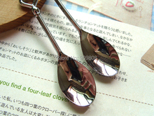 200pcs/lot Love Heart Spoons Coffee Spoon Wedding Favor Guest Gift 2 in 1 box