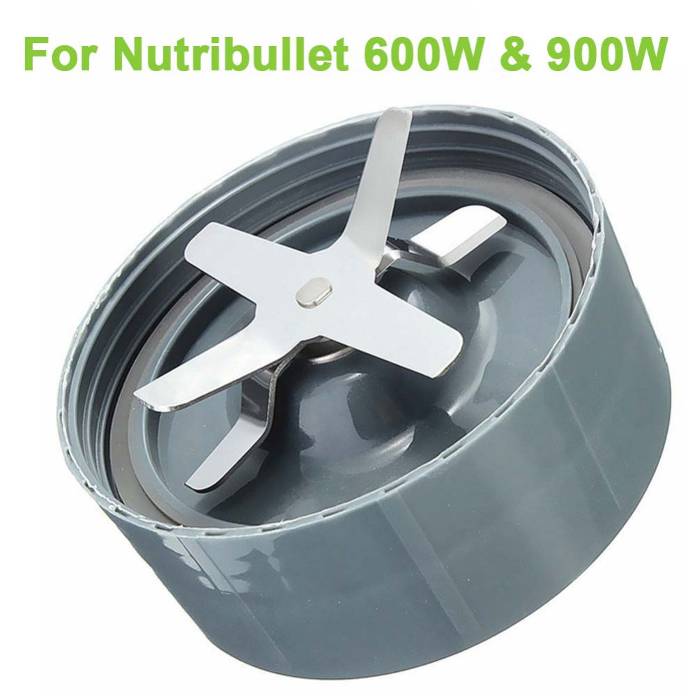 Plastic And Metal Grey New Extraction Blade For Nutribullet Nutri Bullet Replacement 900W and 600W