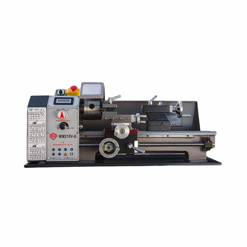 WM210V-G 600 W Speed High Power Machine Tool Metal Lathe / All Steel Lathe Machine With Switch Control 1pc