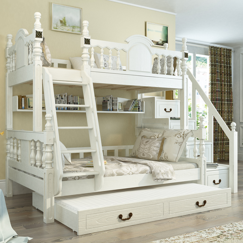 European wholesale cheap bedroom furniture pine bunk beds - Wholesale childrens bedroom furniture ...