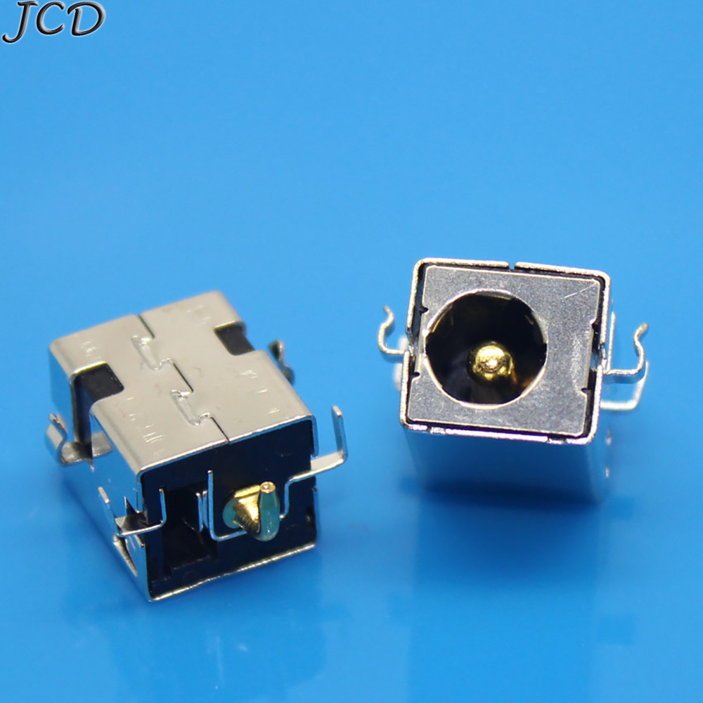 JCD 5pcs/lot 2.5MM For ASUS K53E K53S K53SD K53SV X53s Gold Pin Laptop DC Power Jack Port Socket Connector