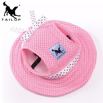 [TAILUP] Christmas pet products dog hat winter summer beach hats for dogs costume accessories littest cute pet shop chien py0018 rose