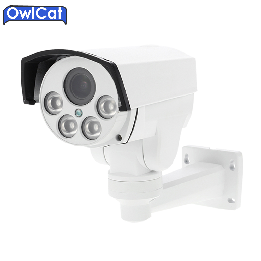 Owlcat HI3516C SONY IMX323 HD 1080P 960P Network Wireless 5X Zoom Outdoor Bullet Waterproof PTZ WIFI