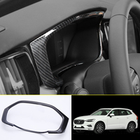 Car Styling Accessories 1PCS ABS Plastic Interior Dashboard Meter Display Frame Cover Trim For VOLVO XC60 2018 Left Hand Drive
